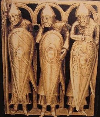 Kite shield - Image: Temple Pyx