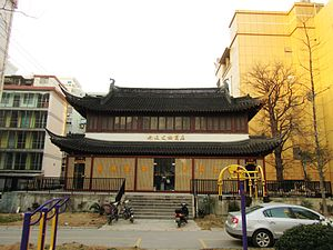 Nantong - Xuanmiao Temple, a precious Song Dynasty architectural relic built in 1009 at Chongchuan District.