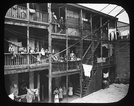 Tenements. Brooklyn, Gold Street, 1890. Brooklyn Museum. Tenements. Brooklyn, Gold Street. 1890.jpg