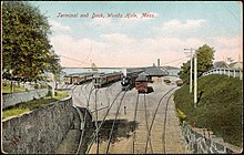Terminal and Dock, Woods Hole, Mass. - No. 10915.jpg