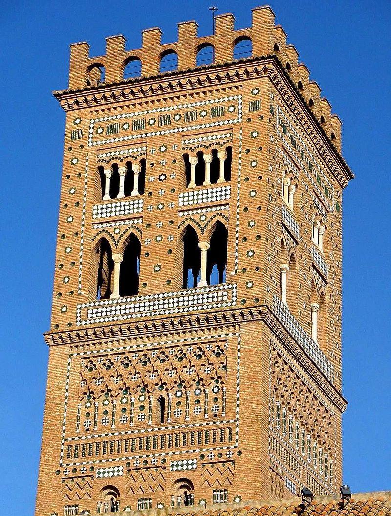 Qué ver qué hacer en Teruel, Vista de la La Torre de San Martín Teruel