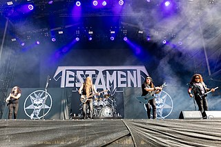 Testament (band) American metal band
