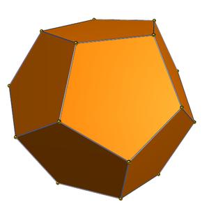 Triakis tetrahedron - Tetartoid 10%