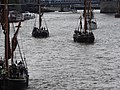 Thames barge parade - through Tower Bridge into the Pool 6689.JPG