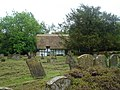 Thatched cottage in churchyard of Dorchester Abbey - geograph.org.uk - 176674.jpg