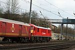 The 'Red Train' and its logos at Benslow Bridge. - panoramio.jpg