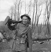 The British Army in North-west Europe 1944-45 B15267