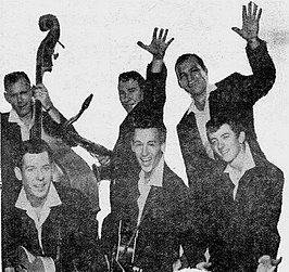 The Champs in 1958
