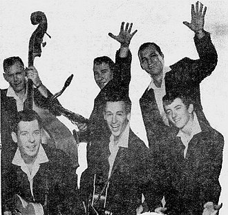 The Champs - The band in 1958