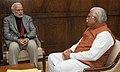 The Chief Minister of Haryana, Shri Manohar Lal Khattar calling on the Prime Minister, Shri Narendra Modi, in New Delhi on December 19, 2014.jpg
