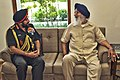 The Chief of Army Staff, General Bikram Singh calling on the Chief Minister of Punjab, Shri Prakash Singh Badal, in Chandigarh on September 17, 2013.jpg