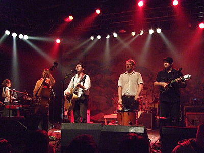 Picture of a band or musician: The Decemberists