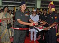 The Director General, Armed Forces Medical Services, Lt. General N. Kumar inaugurating the Cardiac Cath Lab, at the Command Hospital, in Kolkata on November 26, 2010.jpg
