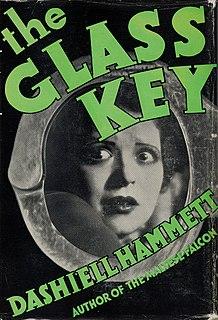 <i>The Glass Key</i> 1931 novel by Dashiell Hammett