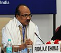 The Minister of State (Independent Charge) for Consumer Affairs, Food and Public Distribution, Professor K.V. Thomas addressing the Conference of Food Ministers.jpg