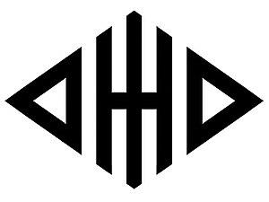 "The Ohio University Marching 110 - The ""Diamond Ohio"" logo."
