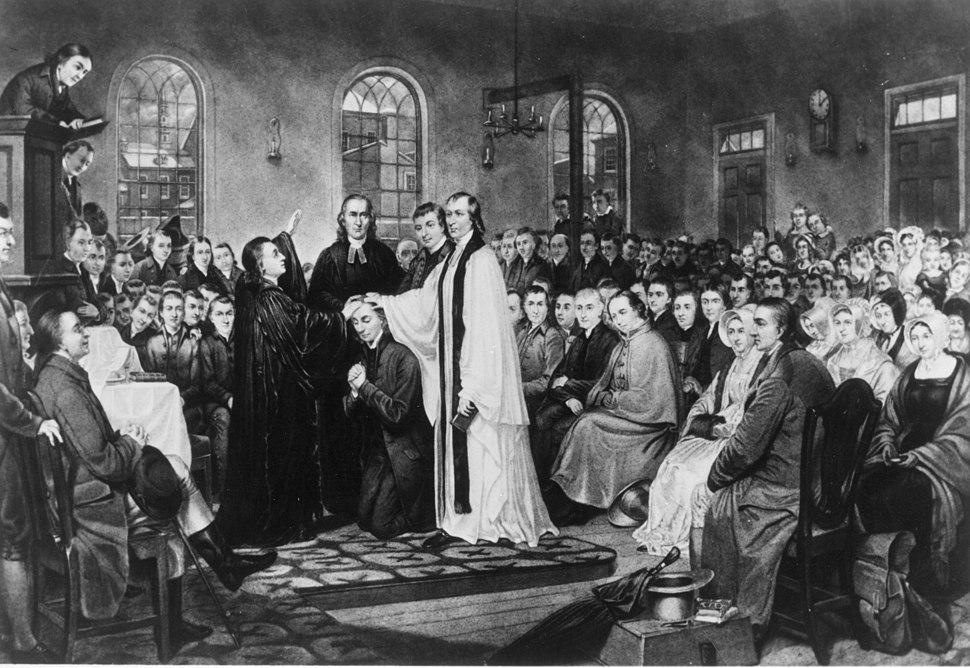 The Ordination of Bishop Asbury