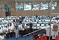 The Prime Minister, Shri Narendra Modi addressing the scientist at the Mission Control Centre after the successful launch of PSLV - C 23, at Sriharikota, in Andhra Pradesh on June 30, 2014.jpg