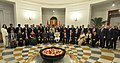 The Prime Minister, Shri Narendra Modi and the Prime Minister of Canada, Mr. Justin Trudeau with the CEOs of Indian and Canadian companies, at the India-Canada CEOs Dialogue, in New Delhi on February 23, 2018.jpg