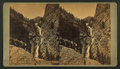 The Seven Falls, in Cheyenne Canyon, by Weitfle, Charles, 1836-1921.png