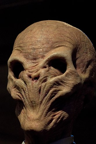 """The Scream - """"The Silence"""" from Doctor Who, have an appearance partially based on The Scream."""