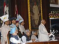 The Speaker, Lok Sabha, Shri Somnath Chatterjee addressing the special joint session of Parliament at the commemoration of 150th anniversary of the India's First War of Independence 1857, in New Delhi on May 10, 2007.jpg