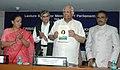 The Speaker, Lok Sabha, Shri Somnath Chatterjee releasing a book 'Indrajit Gupta in Parliament A commemorative Volume' in New Delhi on September 6, 2007.jpg