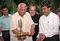 The Speaker of Lok Sabha & President, Parliamentary Forum on Water Conservation and Management.jpg