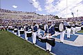 The U.S. Air Force Academy Drum and Bugle Corps performs prior to the start of the Air Force Falcons opening football game against the Idaho State Bengals at Falcon Stadium in Colorado Springs, Colo., Sept 120901-F-ZJ145-438.jpg