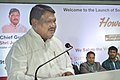 """The Union Minister for Tribal Affairs, Shri Jual Oram addressing at the launch of the """"Howdydo"""", a Messaging App, in Chennai on April 19, 2017.jpg"""