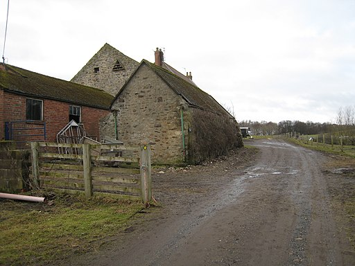 The Weardale Way at Wadley Farm - geograph.org.uk - 1730742