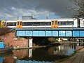 The West London Line crosses the Grand Union Canal (geograph 2270840).jpg