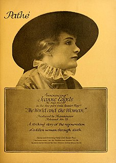 <i>The World and the Woman</i> 1916 film by Frank Lloyd, Eugene Moore