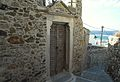 The entrance to courtyard of Venetian Museum and remnants of old gate, Naxos Town 110222.jpg