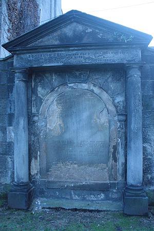 Benjamin Bell - The grave of Benjamin Bell, Canongate Kirkyard, Edinburgh