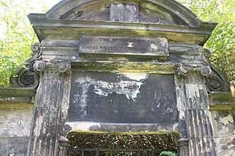 Robert Whytt - The grave of Robert Whytt, Greyfriars Kirkyard