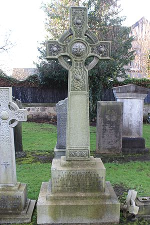 Alexander Asher - The grave of Sir Alexander Asher, Corstorphine, Edinburgh