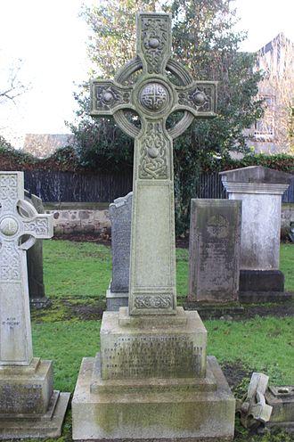 Alexander Asher - The grave of Sir Alexander Asher, Corstorphine, Edinburgh