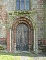 The north doorway, All Saints' Church, Alrewas - geograph.org.uk - 1595151.jpg