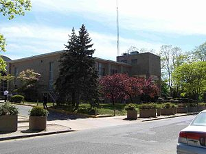 Beth Medrash Govoha - The original Beis Medrash Building of Beth Medrash Govoha