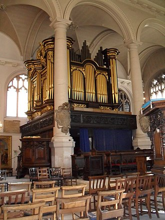 St Sepulchre-without-Newgate - The organ