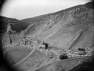 The quarry, Llanwddyn