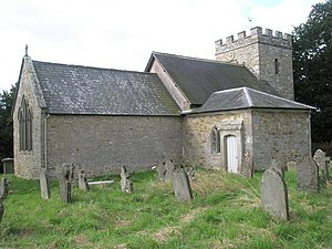 Acton Scott - Image: The splendid parish church of Acton Scott geograph.org.uk 1441956