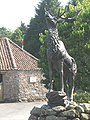 The stag of Highburn House - geograph.org.uk - 1420292.jpg