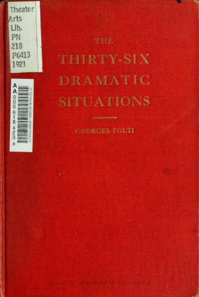 File:The thirty-six dramatic situations (1921).djvu
