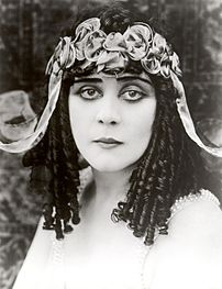 Theda Bara's look has inspired some types of G...