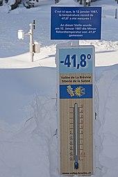 Px Thermometer La Brevine