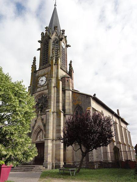 Thiébauménil (M-et-M) église