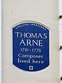 Thomas Arne Blue Plaque.JPG