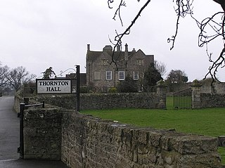 Thornton Hall, High Coniscliffe Grade I listed building in the United Kingdom